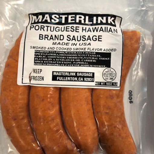Picture of SAUSAGE PORTUGUESE HAWAIIAN