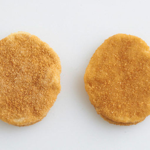 Picture of CHICKEN BREAST PATTIES 3.15 OZ BREADED